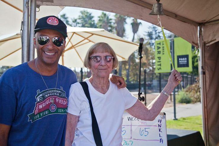 Tom Morello and his Mom