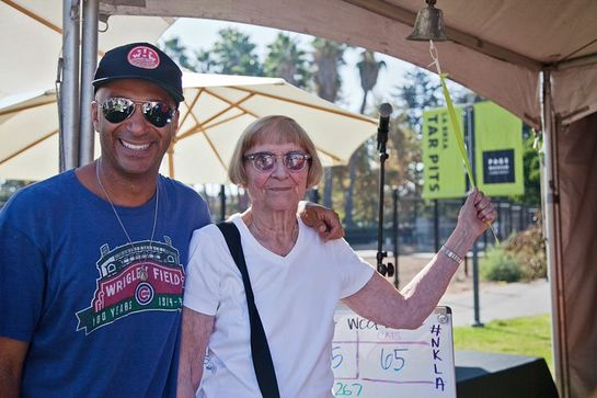 Tom Morello and his Mom