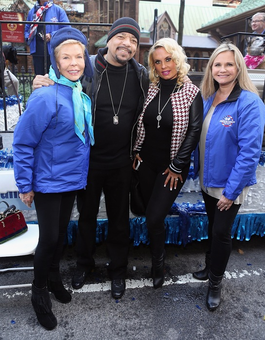 Lois Pope, Robin Ganzert, Ice-T and Coco