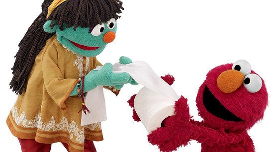 Raya and Elmo