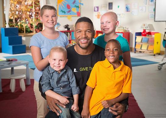 Michael Strahan is one of several celebrities to star in 11th annual St. Jude Thanks and Giving campaign