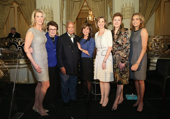Ami Kaplan, Billie Jean King, David N. Dinkins, Rikki Klieman, Sallie Krawcheck, Beverly Beaudoin, Karen Finerman