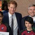 Prince Harry Joins The Fun At ICAP Charity Day