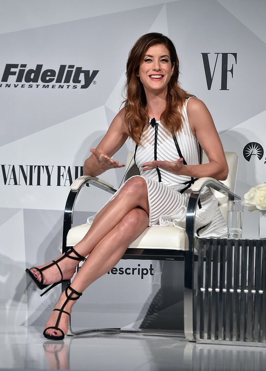 Kate Walsh attends Fidelity Investments and Vanity Fair: Empowering Conversations Panel Discussion