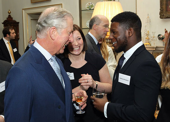The Prince of Wales meets ambassadors for Safer London