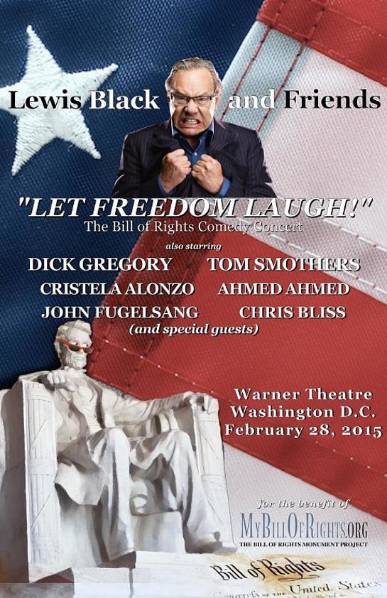 "Lewis Black and Friends: A Night To ""Let Freedom Laugh"" comes to Warner Theatre in Washington DC"