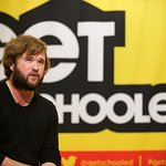 Haley Joel Osment Visits Long Island City High School