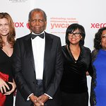 Sydney Poitier And Kathy Ireland Attend YWCA Rhapsody Ball