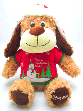 Bret Michaels Chance Ugly Christmas Sweater Plush Toy