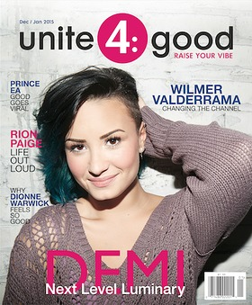 Demi Lovato and Unite4:Good Magazine