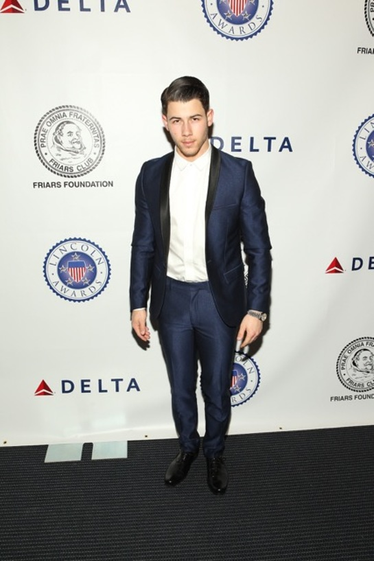 Nick Jonas at The Lincoln Awards: A Concert for Veterans & the Military Family