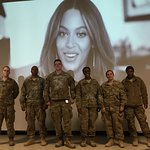 Troops Ring In The New Year With Beyonce And Jay Z