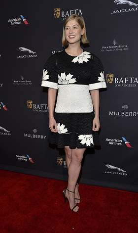 Rosamund Pike at BAFTA Los Angeles Tea Party