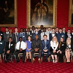 Prince Harry And Carmelo Anthony Attend Coach Core Graduation Ceremony