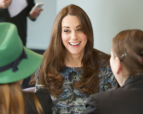 The Duchess of Cambridge joins a coffee morning staged by the organisation Family Friends