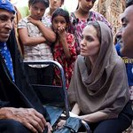 Angelina Jolie Visits Iraq, Calls For International Leadership To End Suffering