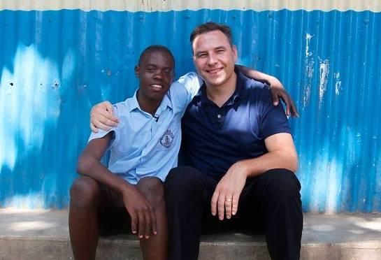David Walliams In Kenya