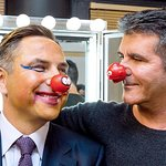 Simon Cowell's Got Talent For Face Painting