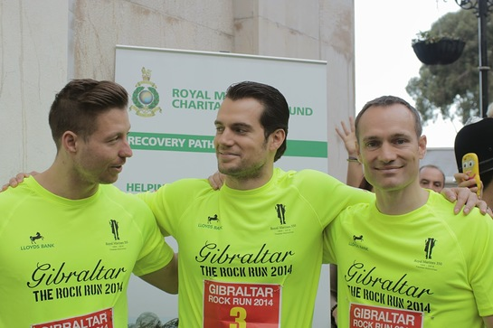 Henry Cavill at the Gibraltar Rock Run