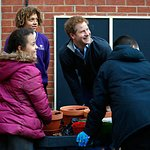 Prince Harry Visits Nottingham Youth Project