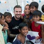 David Beckham Launches New UNICEF Fund