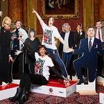Miranda Hart Unveils Comic Relief Statues
