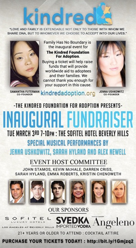 Kindred's initiative is to provide international and domestic adoptees and their families.
