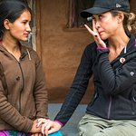 Myleene Klass Visits Nepal With Save The Children