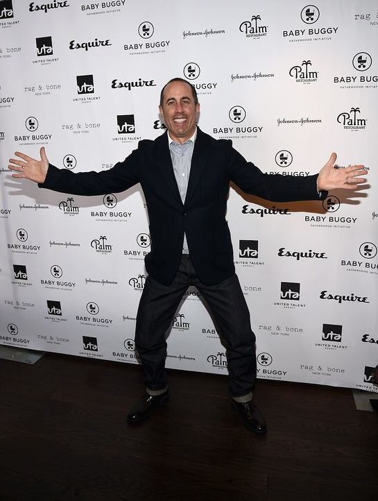 Jerry Seinfeld at Los Angeles Fatherhood Initiative Lunch