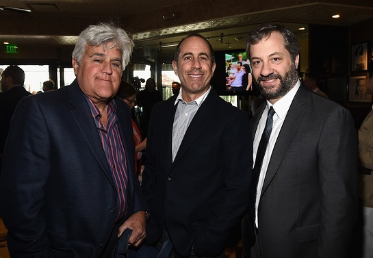 Jay Leno, Jerry Seinfeld and Judd Apatow