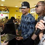 Chance The Rapper, Ludacris Surprise Chicago Students With New Internet Essentials Laptops