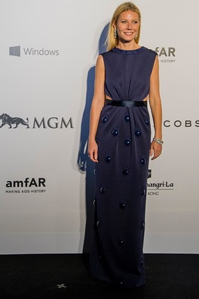 Gwyneth Paltrow at amfAR Hong Kong