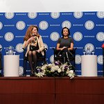 International Women Leaders Discuss Women's Equality And Leadership At Barnard College