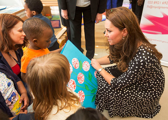 Duchess of Cambridge visits Brookhill Children's Centre