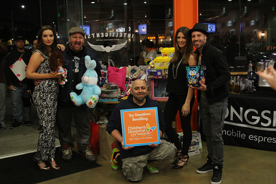 Rachel-Ann Mullins, Stephen Kramer Glickman, Ashley Greene and Chris Daughtry