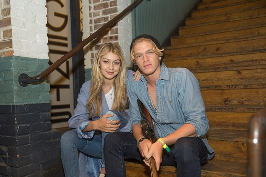 Gigi Hadid and Cody Simpson celebrate International Day ofHappiness with UN and MixRadio