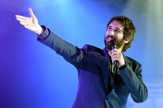 Josh Groban at Celebrity Fight Night