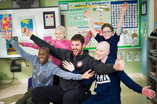 Cleveland Cavaliers star Kevin Love is just one of many Hoops for St. Jude NBA ambassadors