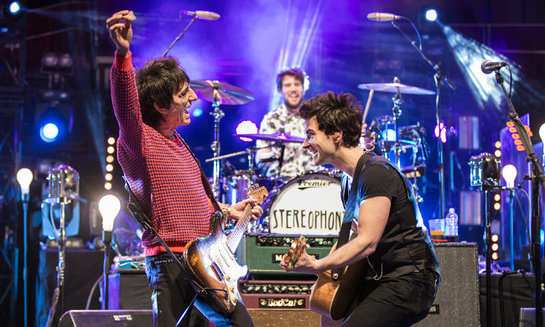 Ronnie Wood and The Stereophonics
