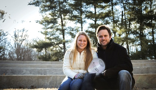 Charles Esten and leukemia survivor daughter Addie to join thousands across the country for Light The Night Walks to raise funds for cancer cures