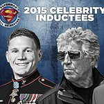 Mario Andretti And John Walsh Inducted Into Superman Hall Of Heroes