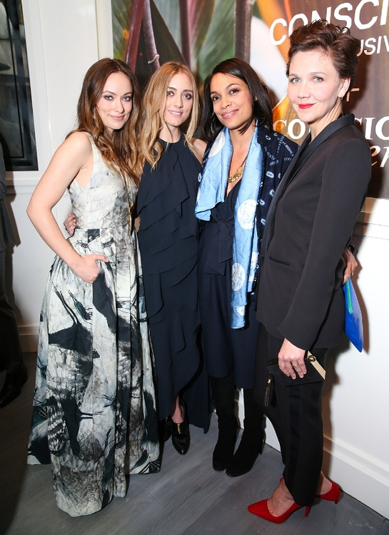 Olivia Wilde, Dakota Fanning, Rosario Dawson and Maggie Gyllenhaal