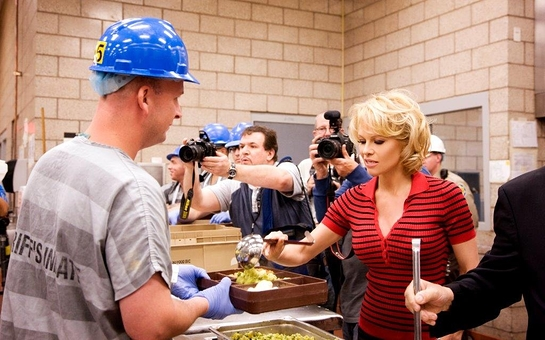 Pamela Anderson at Maricopa County Jail