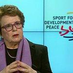 Billie Jean King Talks Gender Equality At United Nations