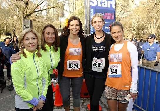 MORE EIC Lesley Jane Seymour, SHAPE EIC Elizabeth Goodman Artis, Weekend TODAY Co-Host Erica Hill, Ivanka Trump, and TODAY News Anchor Natalie Morales