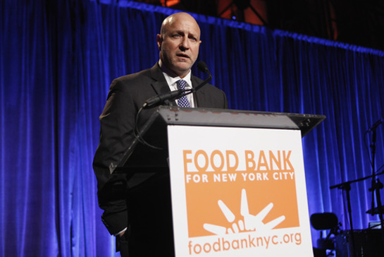 Tom Colicchio speaks onstage during the Food Bank For New York City Can Do Awards Dinner Gala