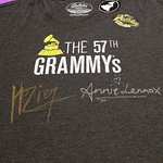 T-Shirts Signed By Annie Lennox And Hozier To Be Auctioned