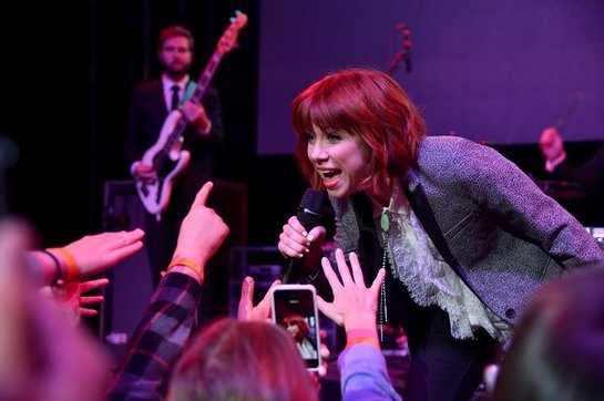 Carly Rae Jepsen performs at City Year Los Angeles Spring Break