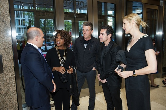 Raj Kumar, Alfre Woodard, Roderick Spencer, Todd Krim and Kelly Rutherford
