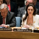 Angelina Jolie Addresses UN Security Council On Syria